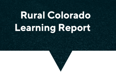 Rural CO Learning Report